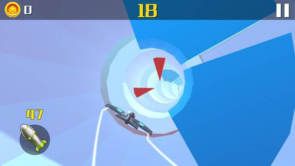 Plane in Hole - 5