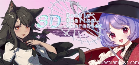 3D Double Dealing Character