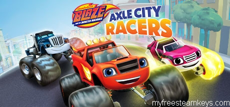Blaze and the Monster Machines: Axle City Racers free steam key