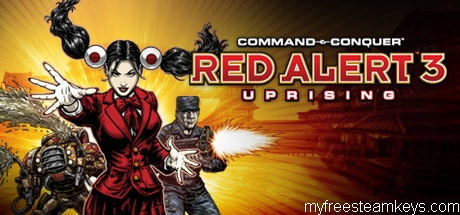 Command & Conquer: Red Alert 3 – Uprising free steam key