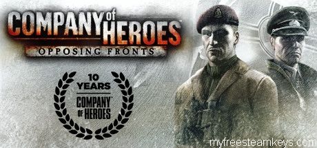 Company of Heroes: Opposing Fronts free steam key