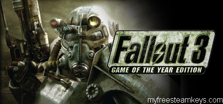 Fallout 3: Game of the Year Edition free steam key