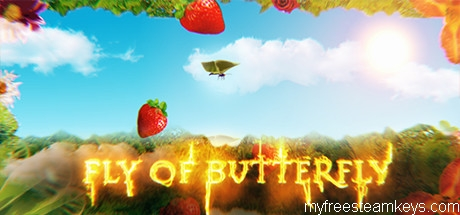 Fly of Butterfly