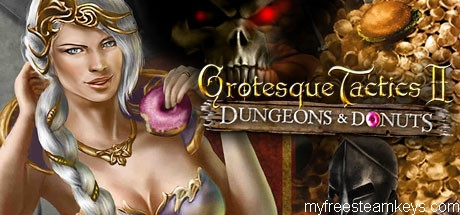 Grotesque Tactics 2 – Dungeons and Donuts free steam key