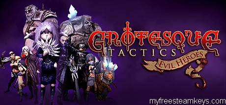 Grotesque Tactics: Evil Heroes free steam key
