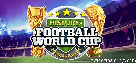 History of Football World Cup free steam key