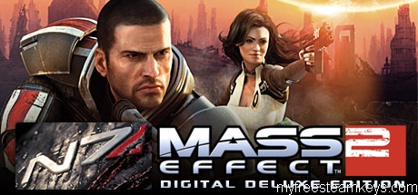 Mass Effect 2 Digital Deluxe Edition free steam key