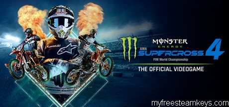 Monster Energy Supercross – The Official Videogame 4 free steam key