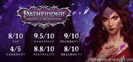 Pathfinder: Wrath of the Righteous free steam key