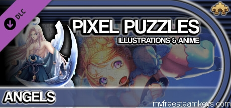 Pixel Puzzles Illustrations & Anime – Jigsaw Pack: Angels free steam key
