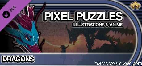 Pixel Puzzles Illustrations & Anime – Jigsaw Pack: Dragons free steam key