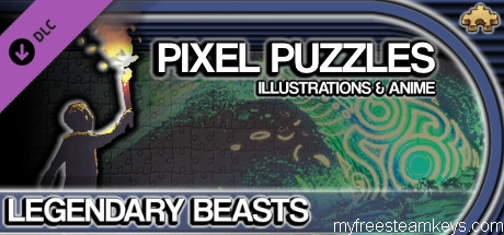 Pixel Puzzles Illustrations & Anime – Jigsaw Pack: Legendary Beasts free steam key