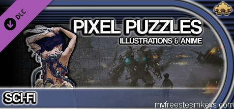 Pixel Puzzles Illustrations & Anime – Jigsaw Pack: Sci-Fi free steam key