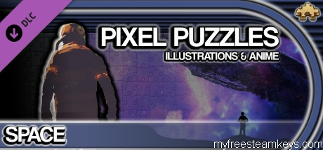 Pixel Puzzles Illustrations & Anime – Jigsaw Pack: Space
