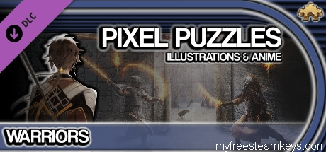 Pixel Puzzles Illustrations & Anime – Jigsaw Pack: Warriors free steam key