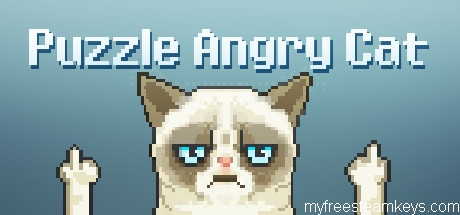 Puzzle Angry Cat free steam key