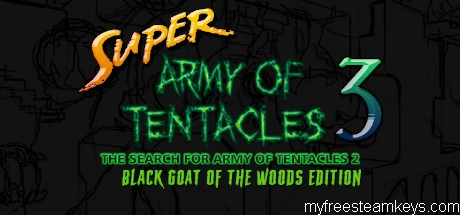 Super Army of Tentacles 3: The Search for Army of Tentacles 2: Black GOAT of the Woods Edition free steam key
