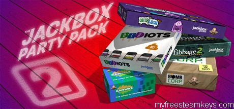 The Jackbox Party Pack 2 free steam key
