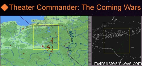 Theater Commander: The Coming Wars, Modern War Game