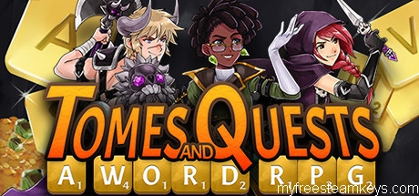 Tomes and Quests: a Word RPG free steam key